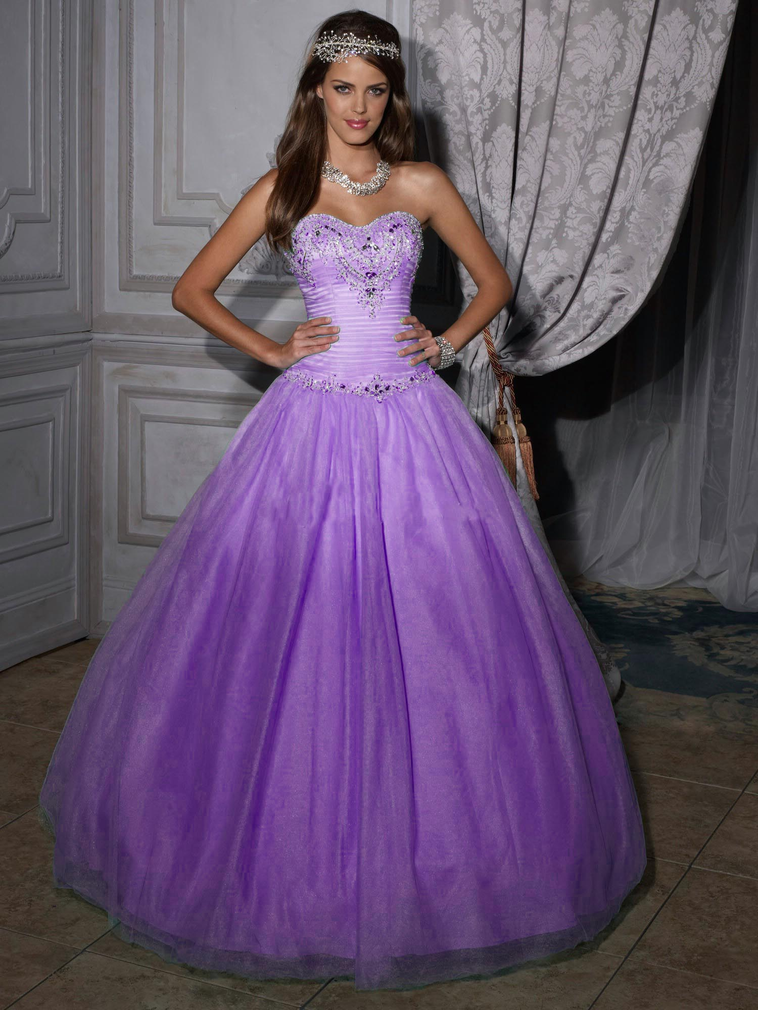 Purple Quinceanera Dresses Picture Collection ...