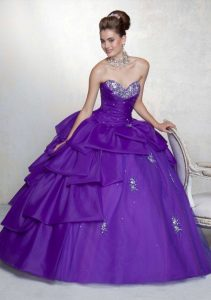 Quinceanera Purple Dresses
