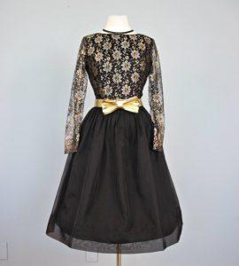 Vintage Lace Cocktail Dress