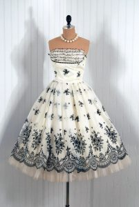 Vintage Style Cocktail Dress