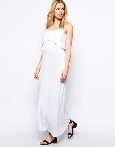 White Maxi Dress Maternity