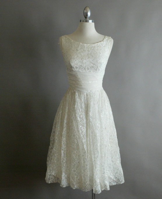 Vintage White Evening Dresses