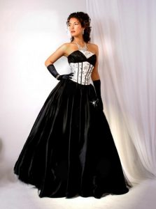Black Dress Wedding