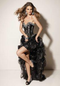 Black High Low Prom Dress