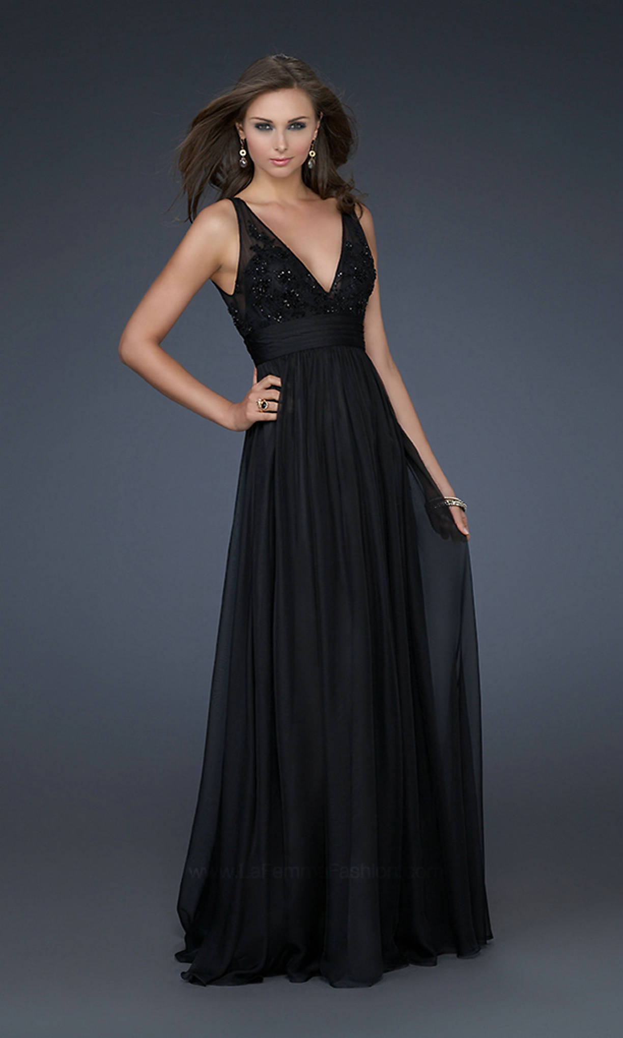Black Long Prom Dresses