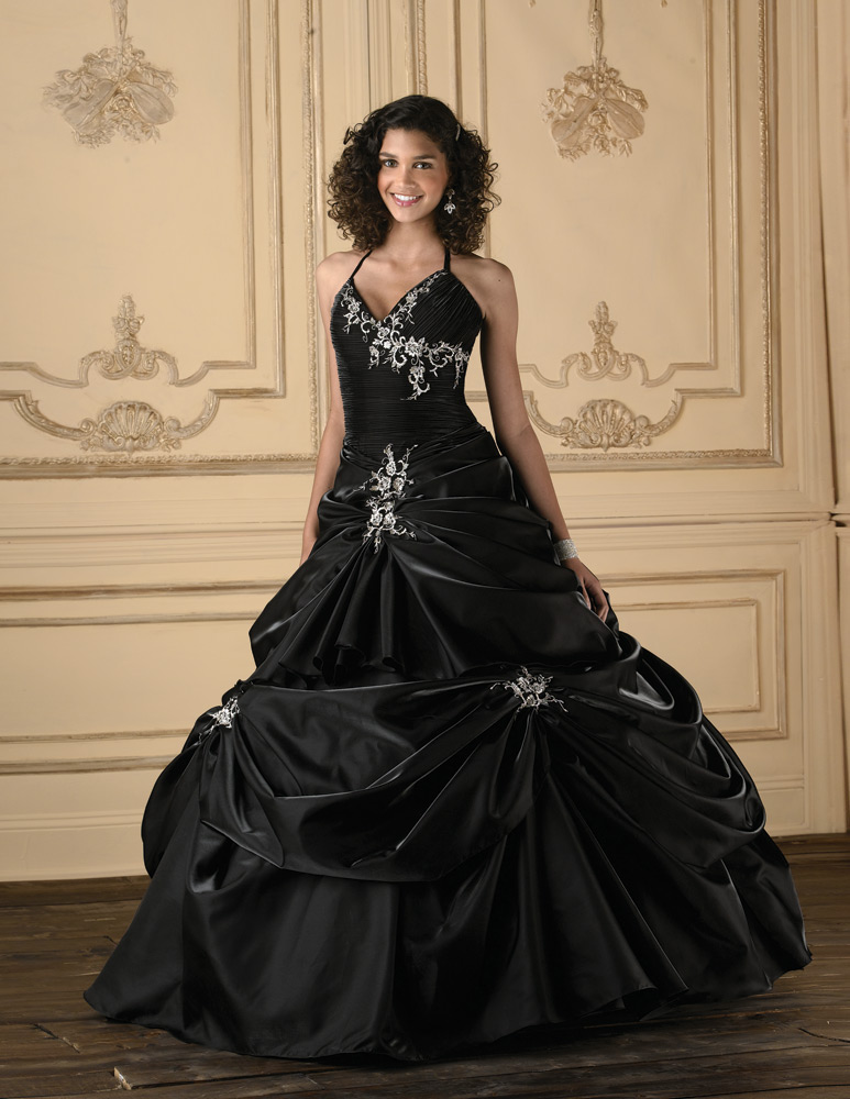 Black Quinceanera Dresses  Dressed Up Girl