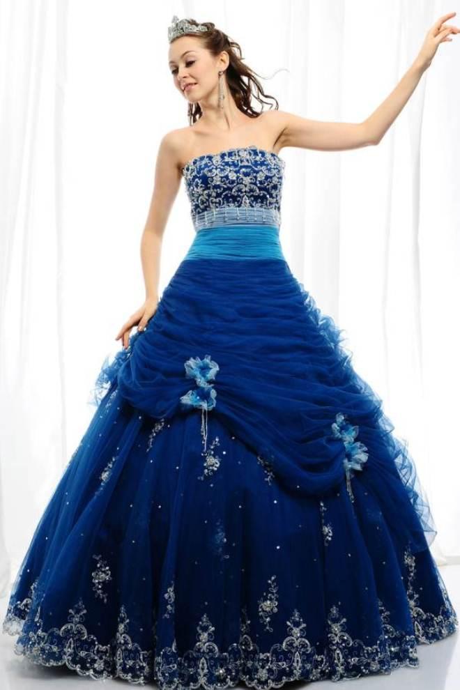 Blue Wedding Dresses Dressedupgirl Com