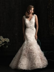 Blush Colored Wedding Dresses