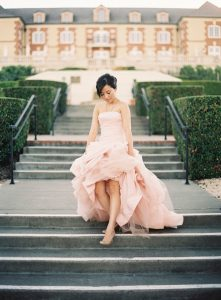 Blush Wedding Dress Vera Wang