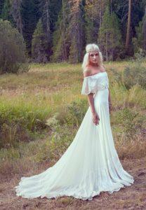 Bohemian Style Wedding Dresses