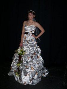 Camo Formal Wedding Dresses