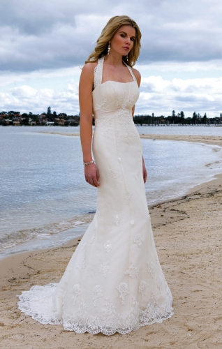 Beach wedding dresses dressed up girl for Wedding dresses casual beach