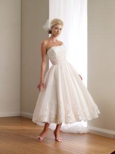 Casual Lace Wedding Dress