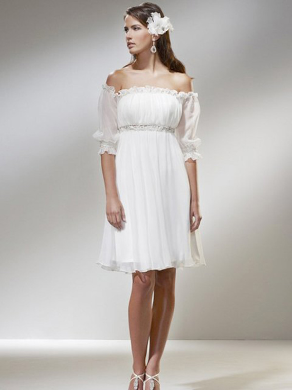 Casual Wedding Dresses Dressedupgirl Com