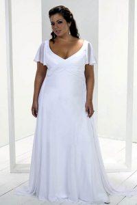 Casual Wedding Dresses Plus Size