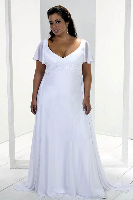 Plus Size Casual Wedding Dresses - Amore Wedding Dresses