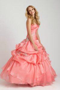 Coral Quinceanera Dresses