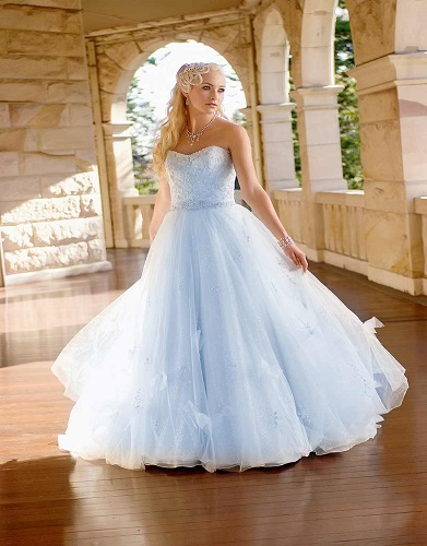 Disney fairytale wedding dresses cinderella for Cinderella wedding dress up