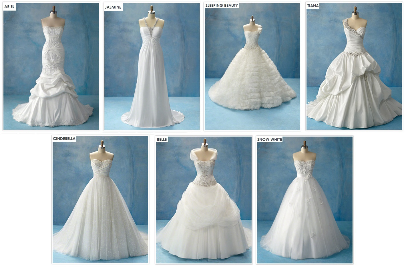 Disney Wedding Dresses | Dressed Up Girl