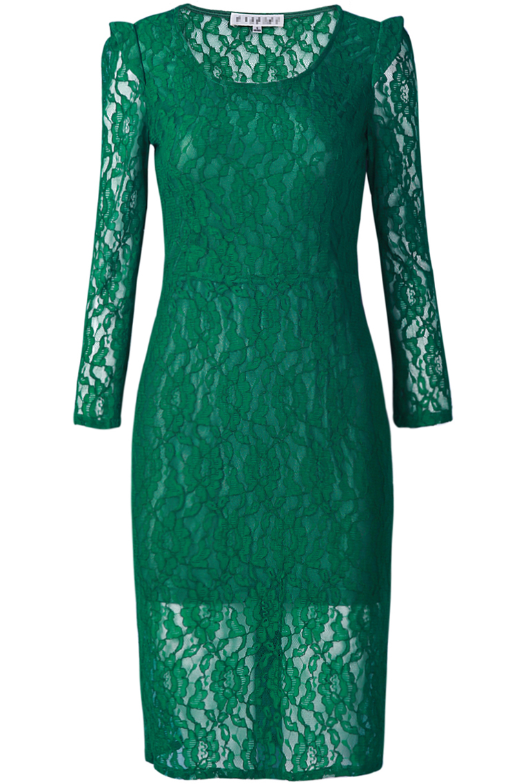 Green Lace Dress Dressedupgirl Com