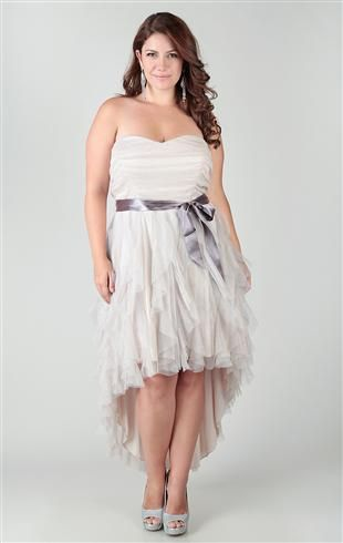 Hi Low Wedding Dress Plus Size - Wedding Dresses Thumbmediagroup.Com