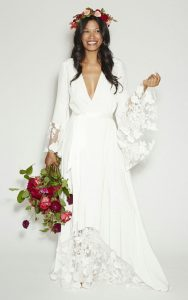 Hippie Style Wedding Dress