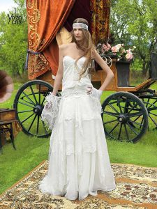 Hippy Wedding Dress