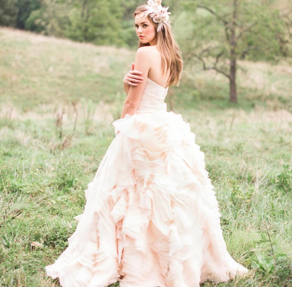 Pink Wedding Dresses: Pink Wedding Dress