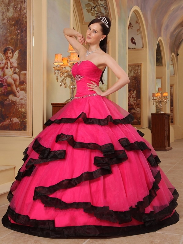 Pink Quinceanera Dresses | Dressed Up Girl
