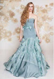 Ice Blue Wedding Dress