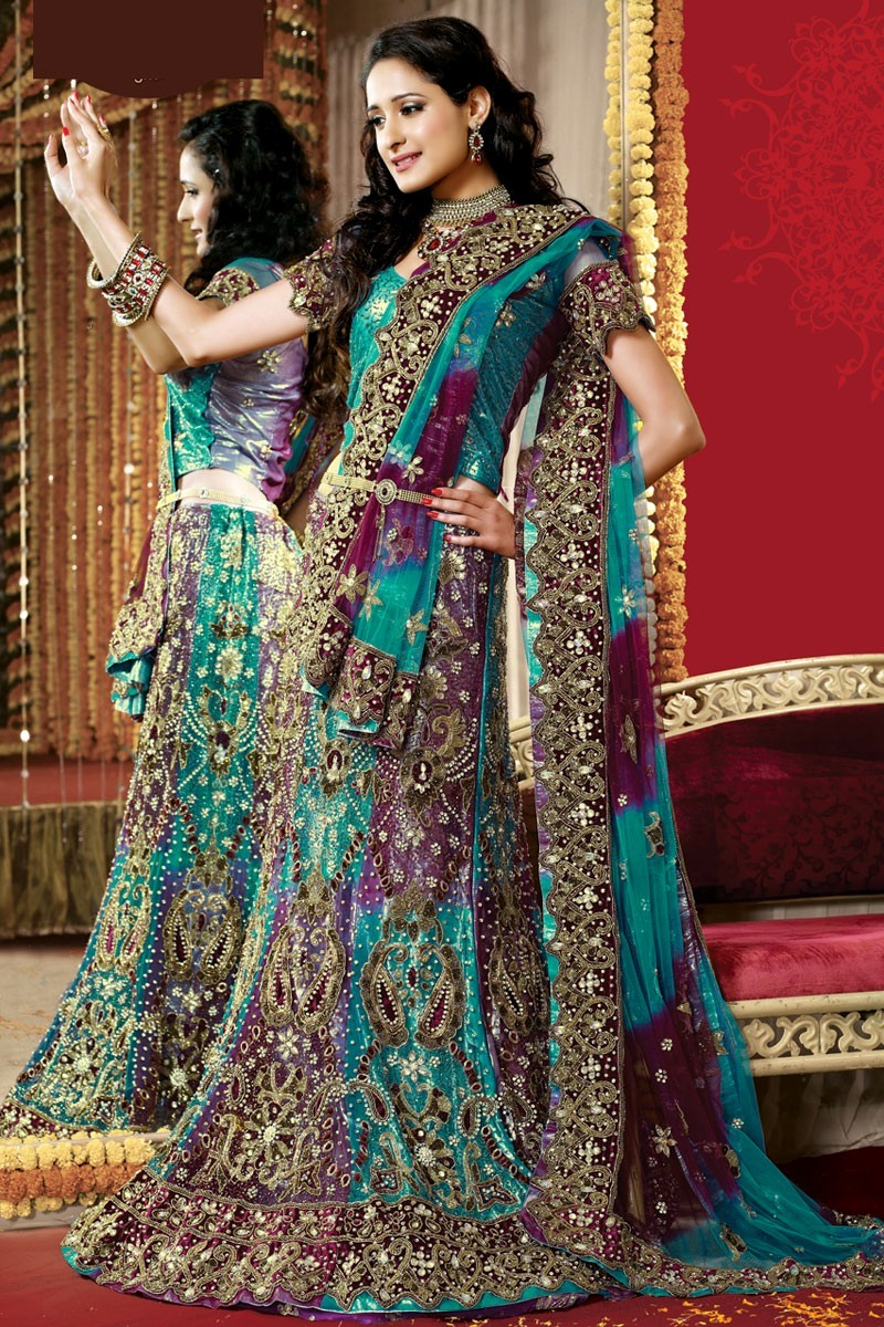 Indian wedding dresses dressed up girl for Indian wedding dresses online india