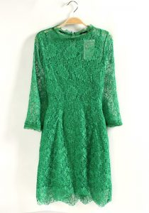 Lace Dress Green