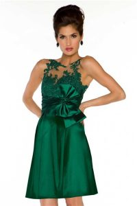 Lace Emerald Green Dress