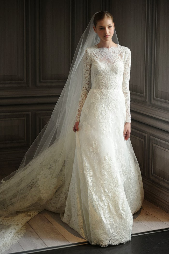 Long sleeve wedding dresses dressed up girl for Lace dresses for weddings