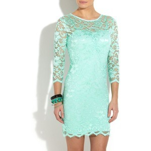 Lace Mint Green Dress