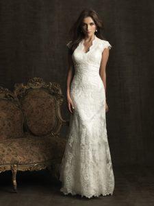 Lace Modest Wedding Dresses