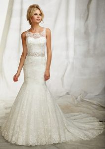 Lace Trumpet Wedding Dress