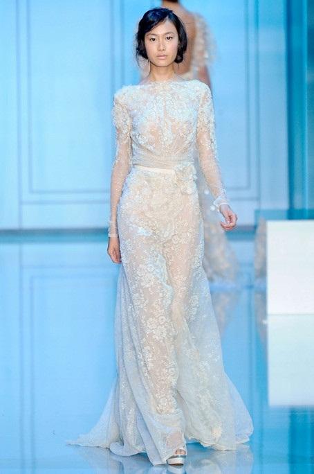 Long Sleeve Lace Wedding Dress | Dressed Up Girl