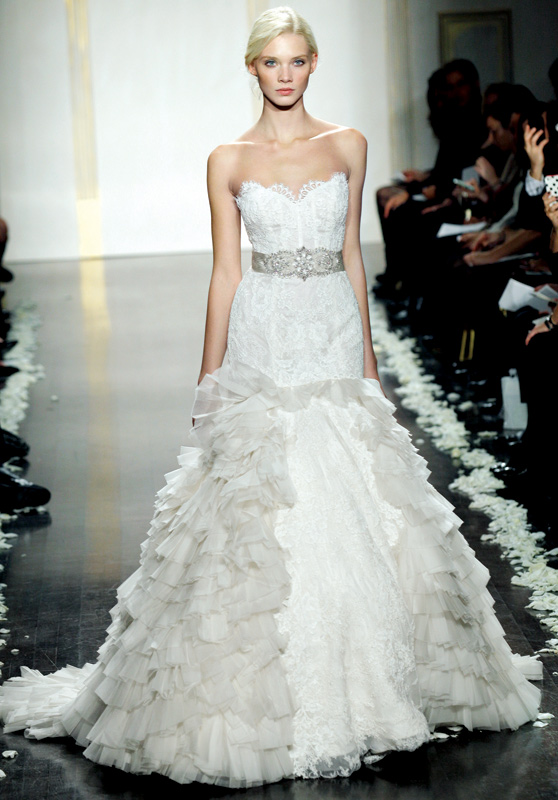lazaro wedding dresses dressed up girl
