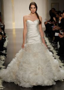 Lazaro Mermaid Wedding Dresses