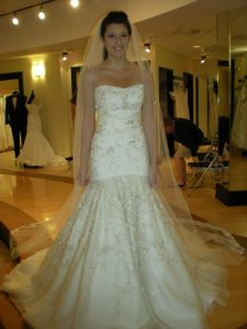 Lazaro Trumpet Wedding Dresses