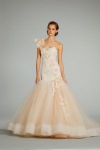 Lazaro Tulle Wedding Dresses