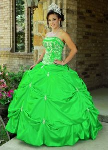 Light Green Quinceanera Dresses