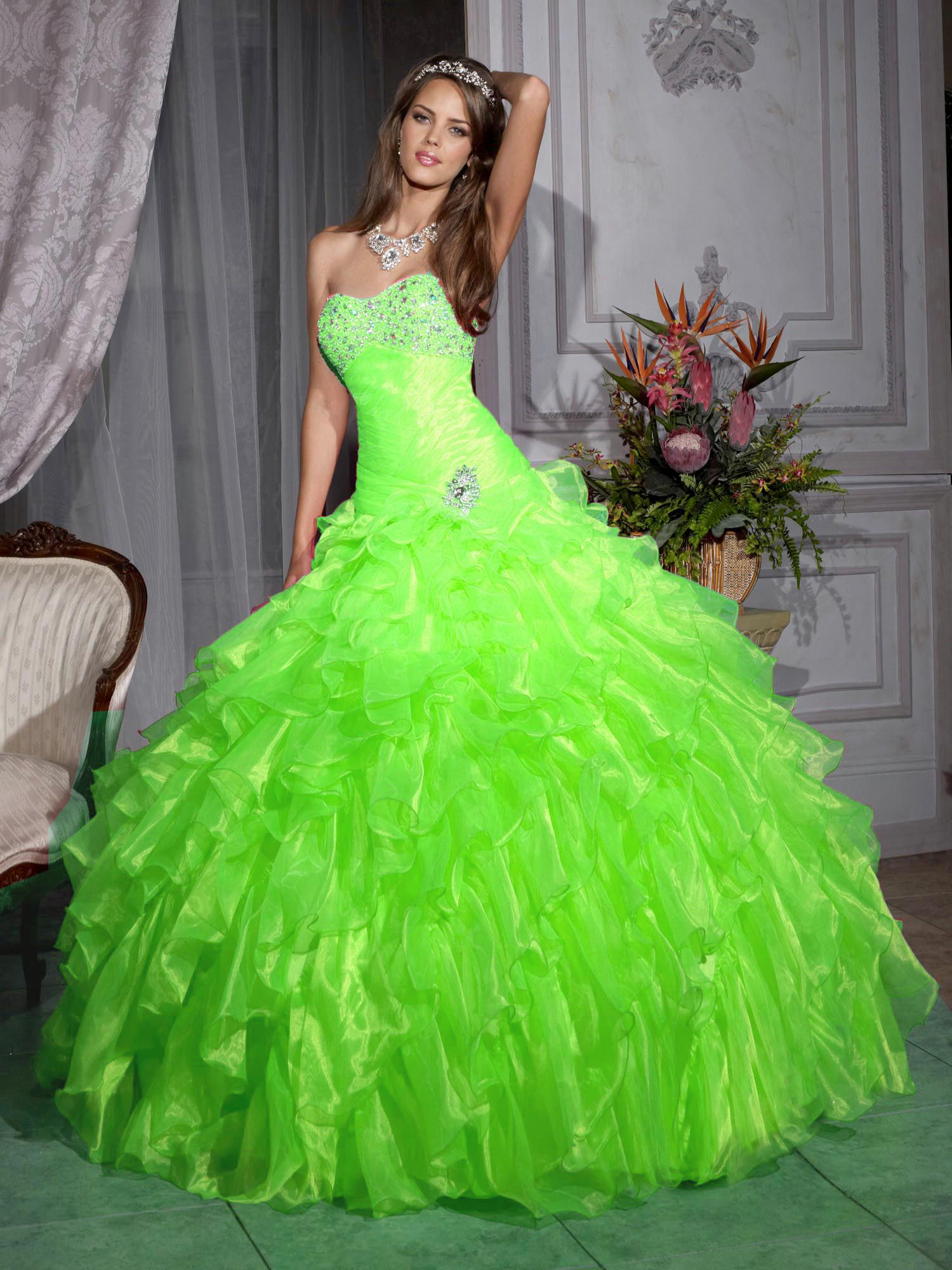 Green Quinceanera Dresses | Dressed Up Girl