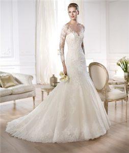 Long Sleeve Mermaid Wedding Dresses