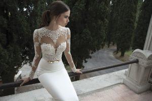 Long Sleeved Lace Wedding Dresses