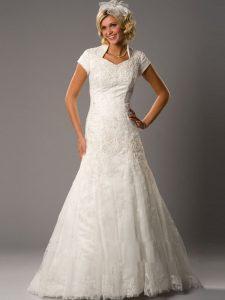 Modest Lace Wedding Dresses