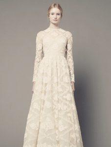 Modest Long Sleeve Wedding Dresses