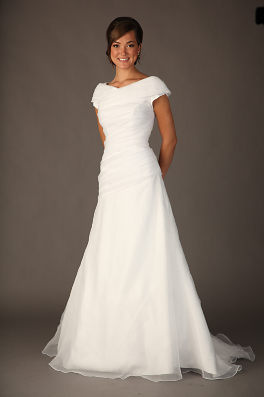 wedding dress modest