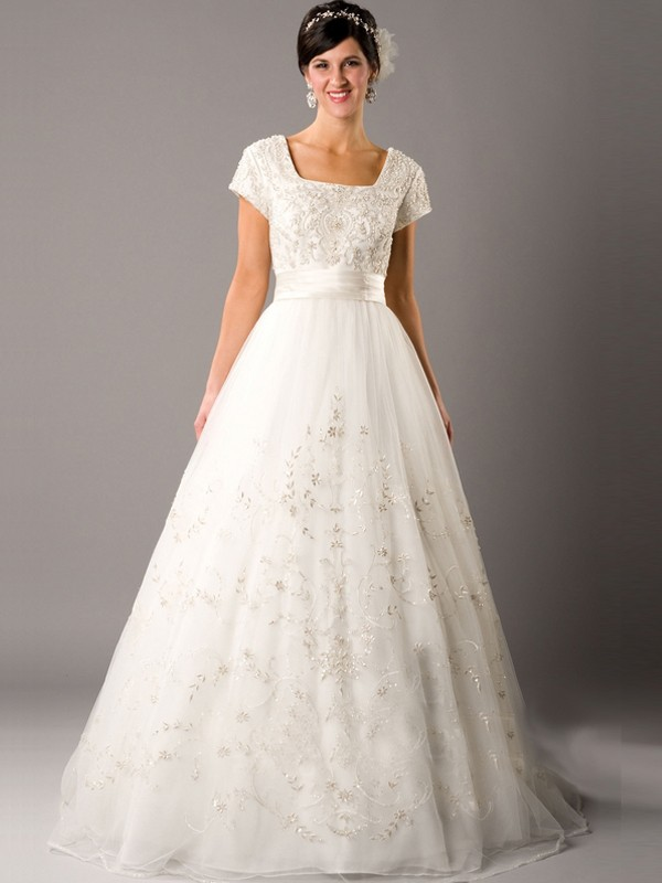 Used Modest Wedding Dresses For  : Modest wedding dresses dressed up girl